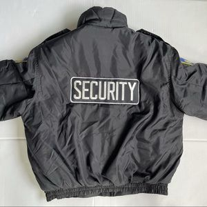 Security jacket for man